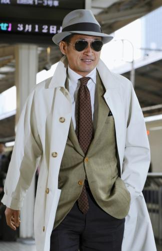 三浦選手はゴッドファーザーなどのマフィアのファッションが好きな方としても
