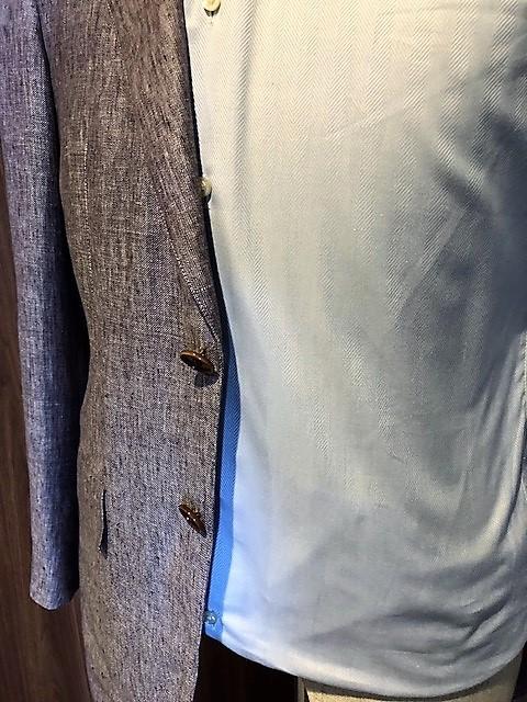 シャツのサイズ オーダースーツ 大阪 ウエスト