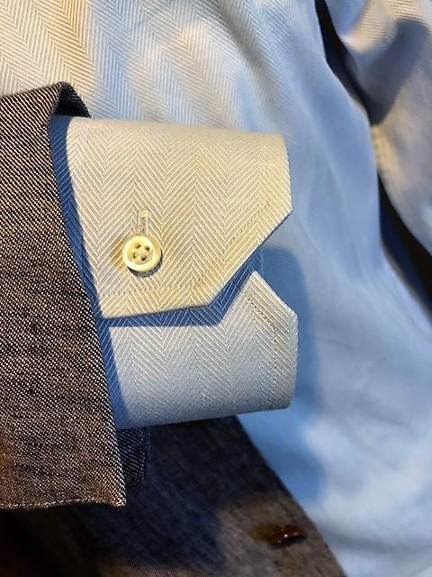 シャツのサイズ オーダースーツ 大阪 カフス廻り